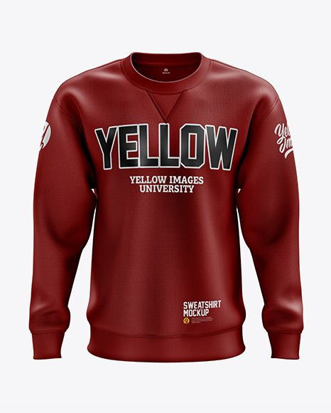 Download Men S Heavyweight Sweatshirt Mockup Front View In Apparel Mockups On Yellow Images Object Mockups Sweatshirts Clothing Mockup Design Mockup Free