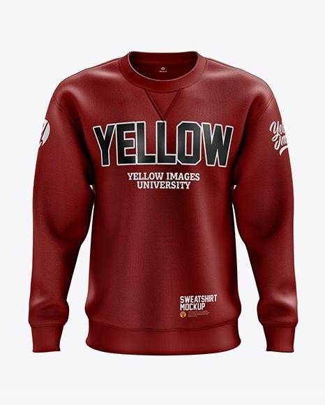 Download Men S Heavyweight Sweatshirt Mockup Front View In Apparel Mockups On Yellow Images Object Mockups Sweatshirts Clothing Mockup Hoodie Mockup