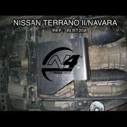 Achetez N4-Offoad - BLINDAGE BOITE DE TRANSFERT N4 POUR NISSAN NAVARA D22 / TERRANO 2 / FORD MAVERICK au meilleur prix chez Equip'Raid