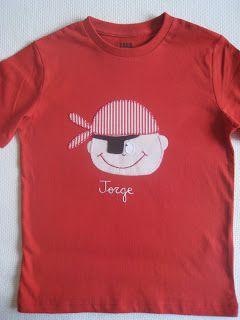Camisetas+personalizadas+-+lazos+de+tul:+Piratas+en+rojo