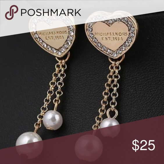 867c1d510029 michael kors pearl earrings sale   OFF77% Discounted
