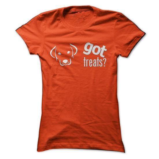 Got Treats? Labrador Edition T Shirts, Hoodies Sweatshirts. Check price ==► https://www.sunfrog.com/Pets/Got-Treats-Labrador-Edition-Orange-Ladies.html?57074