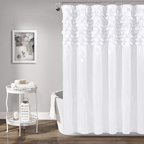 Lush Decor Lillian Shower Curtain White Lush Decor In 2020 Shower Curtain Lush Decor Shower