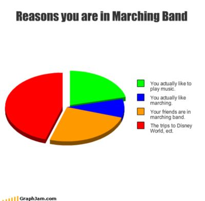 Marching band colorguard members.?