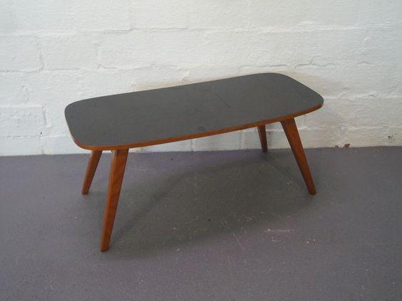 Blumenbank Beistelltisch Resopal 1950er 50`s 60 s Rockabilly Mid Century Design   eBay