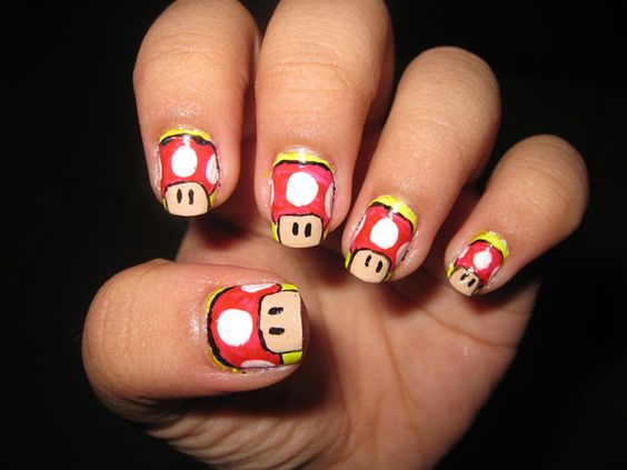 Mario shrooms!