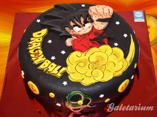 Cake Arch Balloon Design : Goku, Cakes and Blog on Pinterest