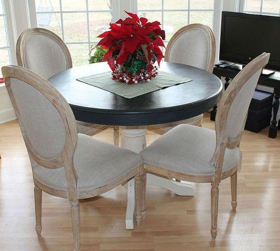 kitchen renovation, home decor, kitchen backsplash, kitchen design, Newly painted table