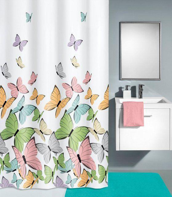 Duschvorhang Butterflies Breite 180 Cm In 2020 Kleine Wolke