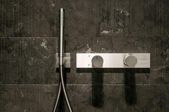 Fantini milano showroom design fantini for Rubinetti bagno design