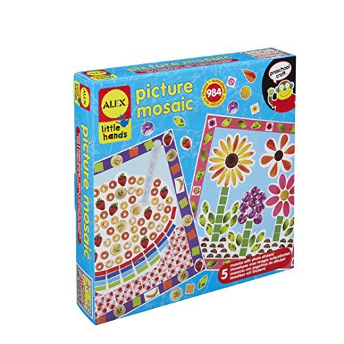 Alex Toys Little Hands Picture Mosaic Alex Toys Https Www Amazon Com Dp B006wcn750 Ref Cm Sw R Toddler Arts And Crafts Craft Kits For Kids Art Kits For Kids