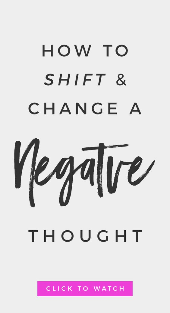 Learn How To Shift + Change A Negative Thought | Mindset + Manifestation