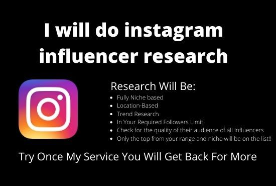 Ecovirtual I Will Do Instagram Influencer Research For 5 On Fiverr Com In 2021 Instagram Influencer Influencer Influencer Marketing