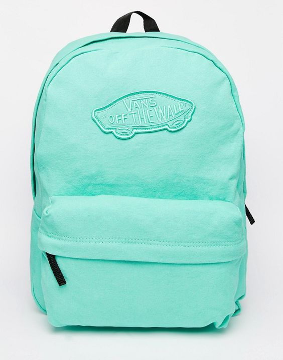 Image 1 ofVans Realm Backpack in Mint Green