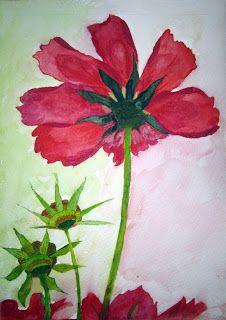 ALUMNOS DEL TALLER DE DIBUJO Y PINTURA MJBARRERA: Flores de Esperanza Hidalgo