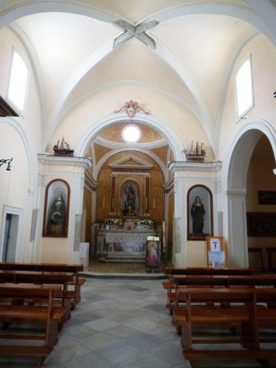 """""""Santa Maria Soccorso"""" (Chiesa), Forio, Isola Ischia,Italia (Maggio)"""