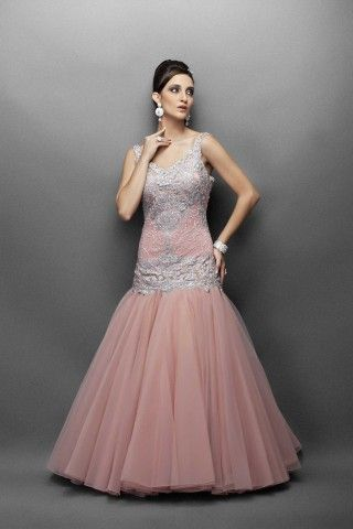 Dusky Pink Gown...