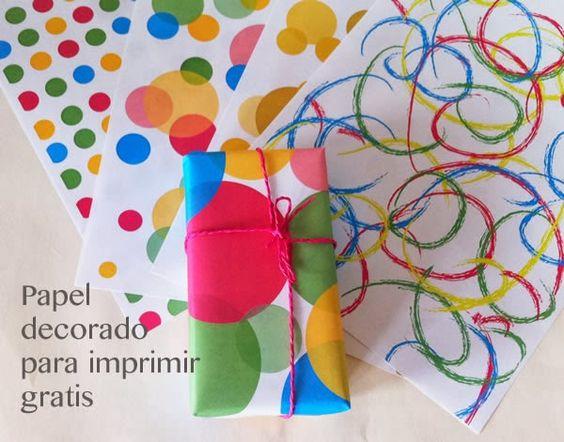 Manualidades papel de topos para imprimir cosas para - Comprar papel decorativo ...