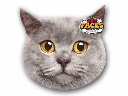 Kissen & KissenbezügePet Faces Kissen Katze: British Short Hair -50 cm-