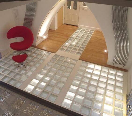 Pinterest the world s catalog of ideas for Glass block floor