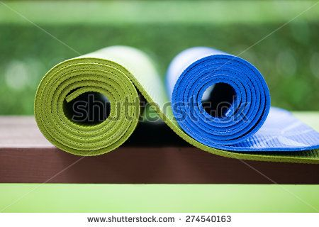 Yoga Mat Isolated Stock Photos, Images, & Pictures | Shutterstock