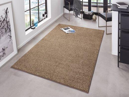 Flachgewebe Teppich Hanse Home Pure Braun Teppich Braun Teppich Flachgewebe