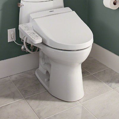 Toto Washlet C100 Elongated Toilet Seat Bidet Washlet Bidet Toilet Seat Traditional Toilets