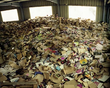 Dangerous Minds | Holy Moly! The BIGGEST pile of vinyl records you're ever going to see