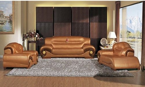 Cool Pure Leather Sofa New