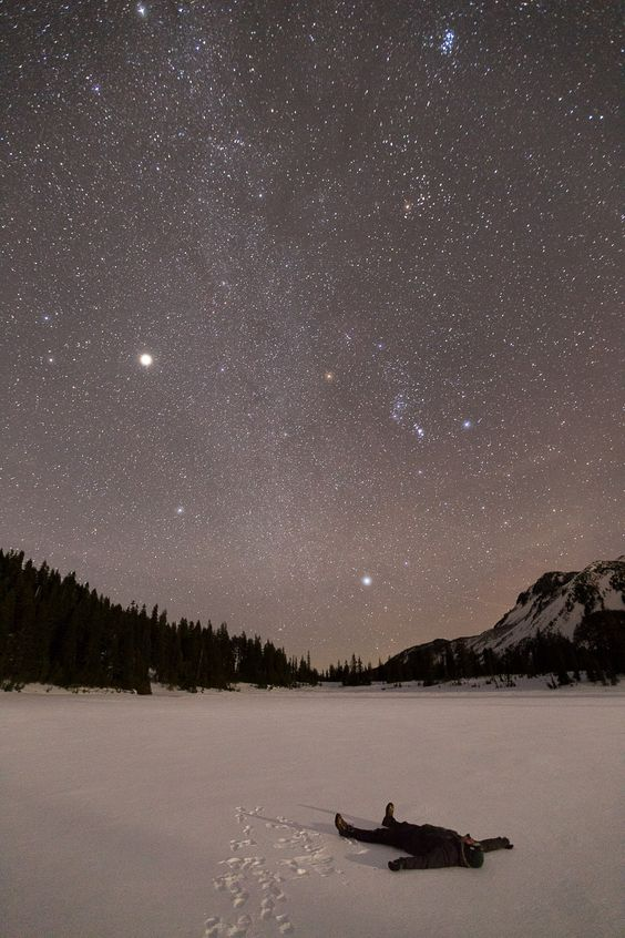 Au milieu de rien, au centre de tout. Le must pour se recentrer sur l'essentiel! #Regarder les #étoiles, #allonger par terre: