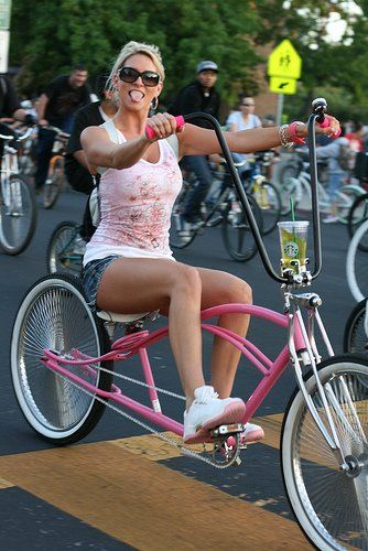 Custom bicycles   Great cup holder! Hint, look at the handlebar mount