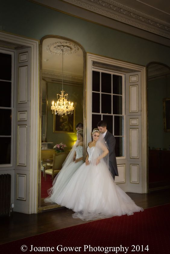 Bride And Groom At Rise Hall By Hull Wedding Photographer Joanne Gower