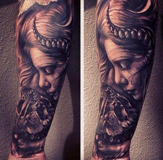Tattoo by carl grace tattoo pinterest grace o 39 malley for Tortured souls tattoo