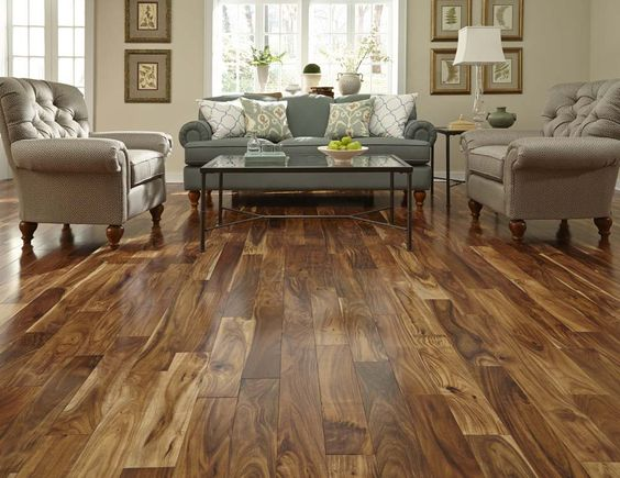 Bellawood - Acacia Engineered- I love the look of this Hardwood floor. It would look great in a kitchen, and dining room as well as in a bedroom