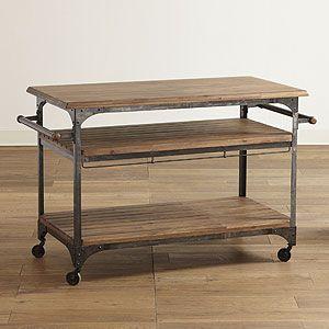 Jackson Kitchen Cart World Market Tiffany Loudermilk I Love The Idea Of This For My Work