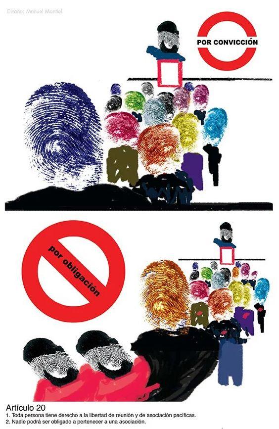 ¡Artículo 20/30 Declaración Universal de los #DDHH #DUDH - ¡Colecciónalos! @ONUDHmexico