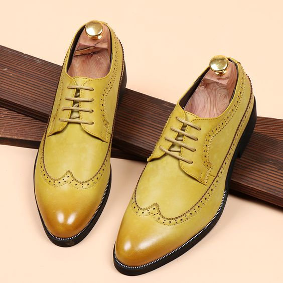 Image result for yellow shoes canada