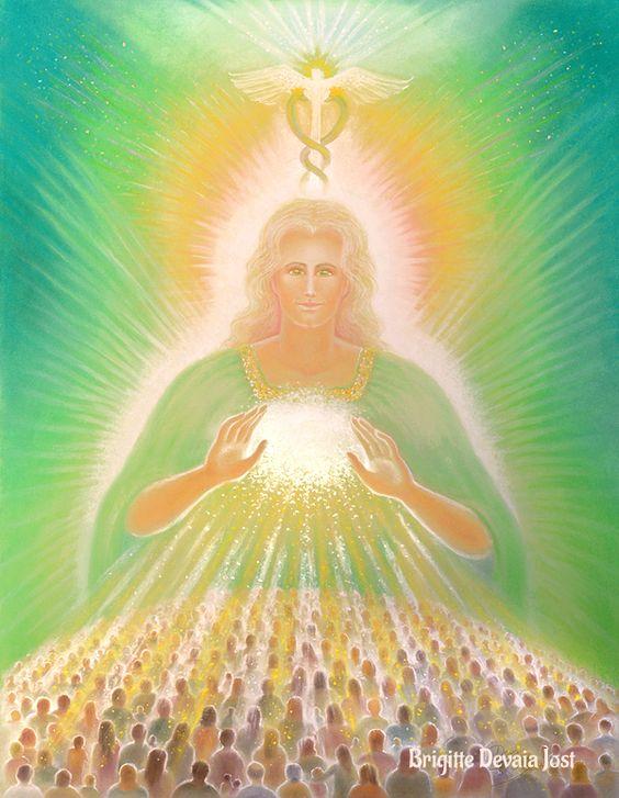 Brigitte Devaia Jost Archangel Raphael Divine Healer