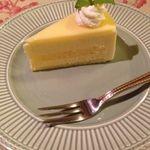 ゆりあぺむぺる - レモンチーズケーキ