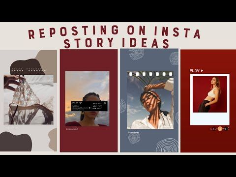 8 Creative Ways To Repost On Instagram Stories Using The Ig App Only Compilation Instagram Repost Instagram Inspiration Posts Creative Instagram Stories