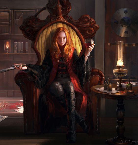 Ambre Drachvil, sorcière damnée. C1db45ce0137274e39fa54fd79741672