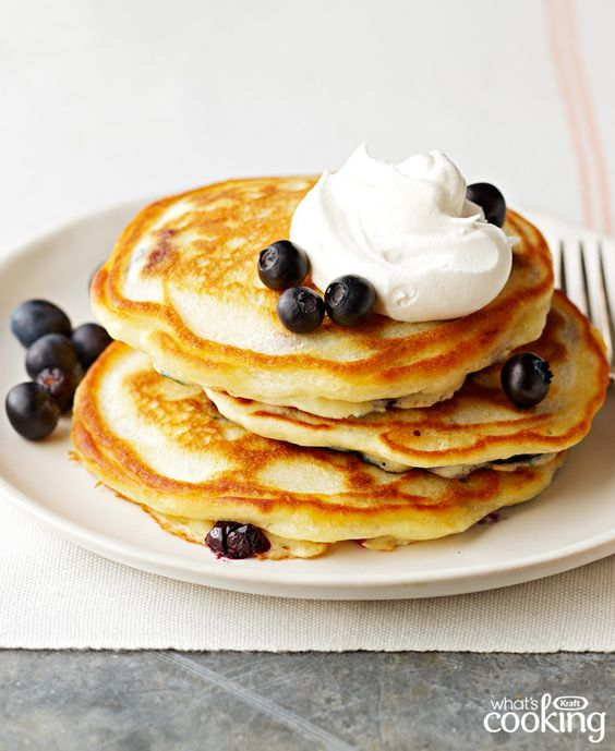 Blueberry Pancakes #recipes