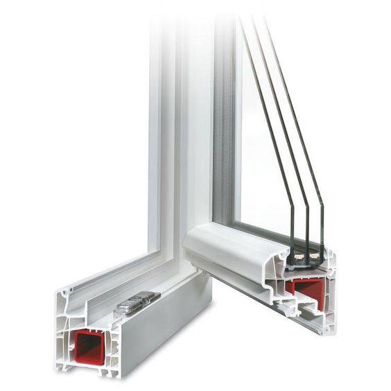 Description du profilé Energeto 5000 Fenêtre PVC Energeto 5000 - joint porte fenetre pvc