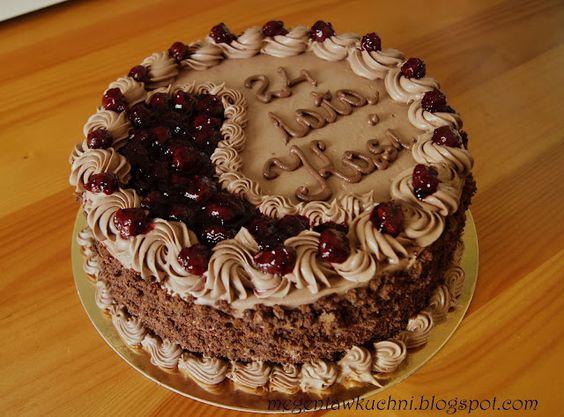Tort czekoladowy z wisniami
