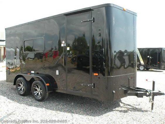 New 2017 Cargo Craft Elite V 7x16 Enclosed Cargo Trailer For Sale by Colorado Trailers, Inc. available in Castle Rock, Colorado