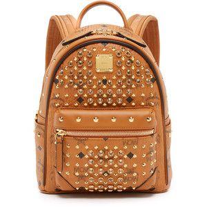 MCM Crystal Stud Baby Backpack
