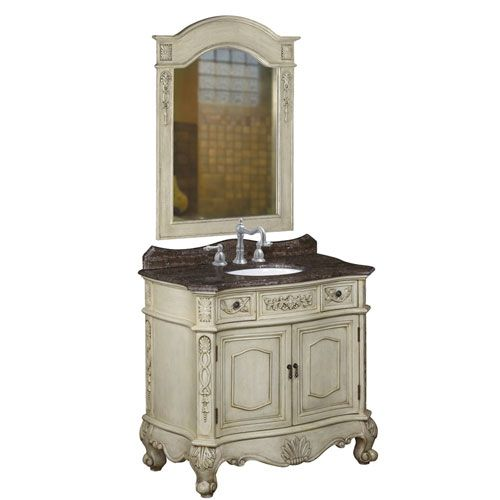 French Bathroom Faucets French Country Style Bathroom Vanity By Belle Foret With A Whitewash