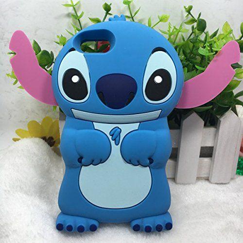 Stingna Cute 3D Cartoon Stitch Lilo Soft silicone Phone Cases ...