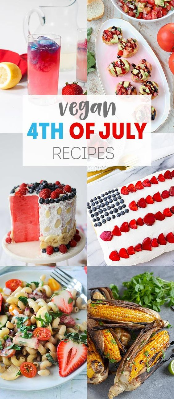 Delicious Vegan 4th of July Recipes