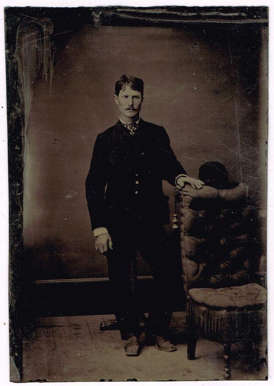 Wyatt Earp Tintype 1870's Possible Match | eBay